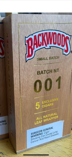 Backwoods Small Batch 001 (Gold Edition)