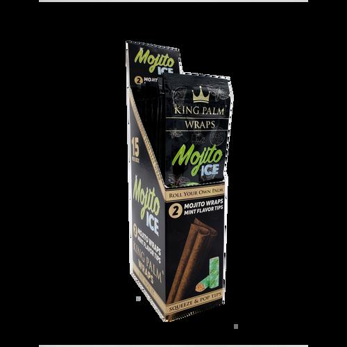 King Palm Wraps Mojito Ice 15/2 Pk