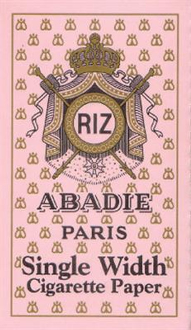Abadie Cigarette Papers Single Wide Box 24Ct