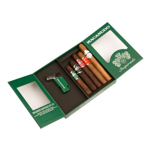 Macanudo Cigars Inspirado Collection With Lighter