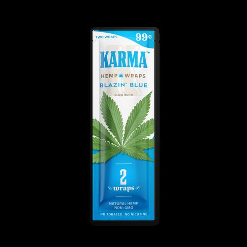 KARMA Hemp Wraps Blazin' Blue