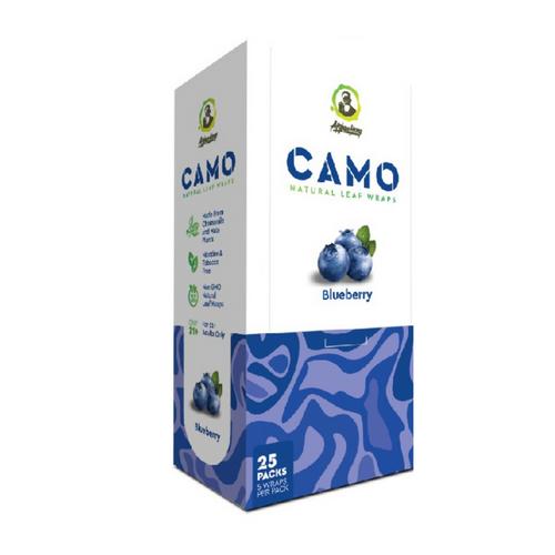 CAMO Natural Leaf Wraps Blueberry 25/5