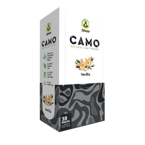 CAMO Natural Leaf Wraps Vanilla 25/5