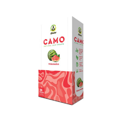 CAMO Natural Leaf Wraps Watermelon 25/5