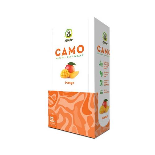 CAMO Natural Leaf Wraps Mango 25/5