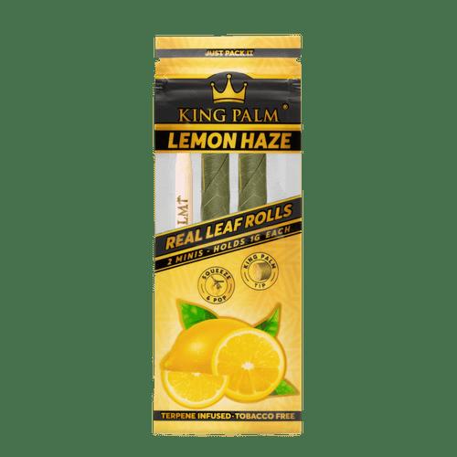 King Palm Mini Rolls Lemon Haze