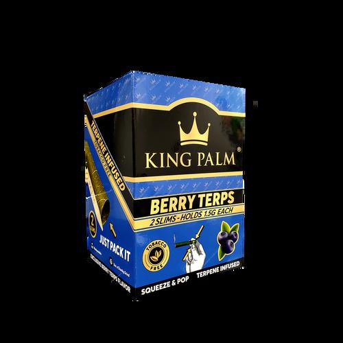 King Palm Wraps Slim Berry Terps 20Pk