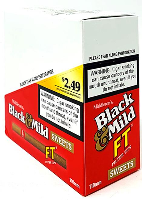 Black & Mild Filter Tip Sweet Cigars