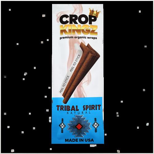 Crop Kingz Organic Hemp Wraps Tribal Spirit 15Ct/2