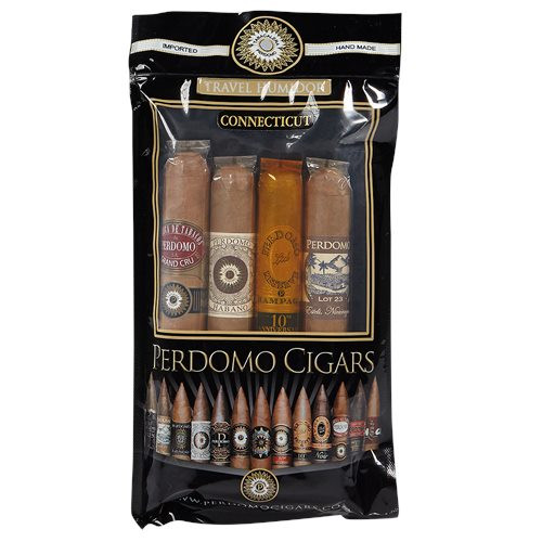 Perdomo 4 Pack Connecticut Humidified Cigar Sampler