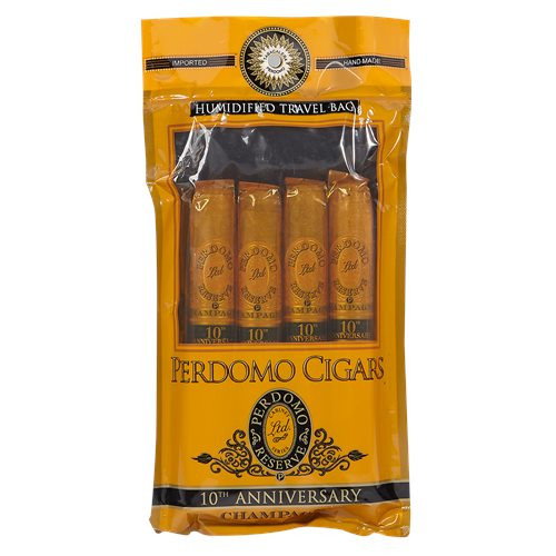 Perdomo 4 Pack Champagne Humidified Cigars Sampler
