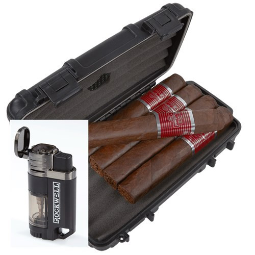 CAO Flathead 5-Cigar Sampler Humidor Combo