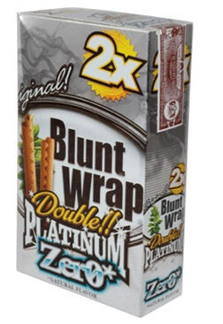 Double Platinum Blunt Wraps Zero 25/2 Ct