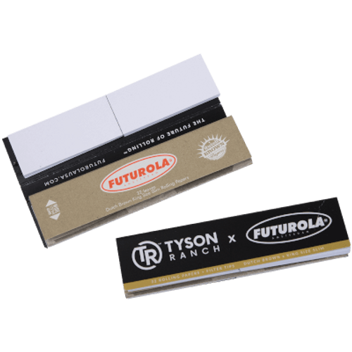 Futurola King Size Papers With Tips 32/26 Ct. Box