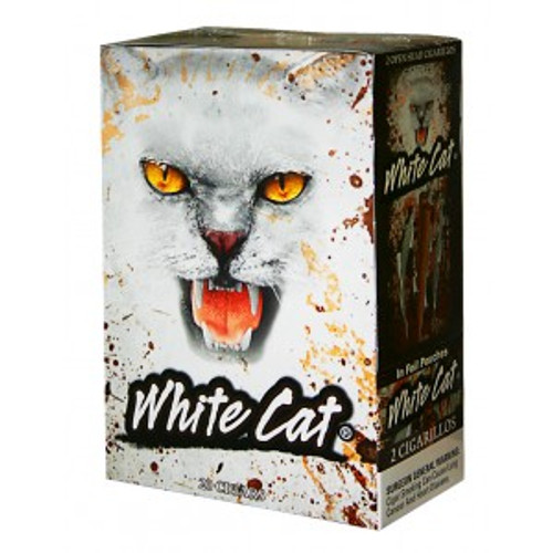 White Cat Cigarillos Natural 2PK