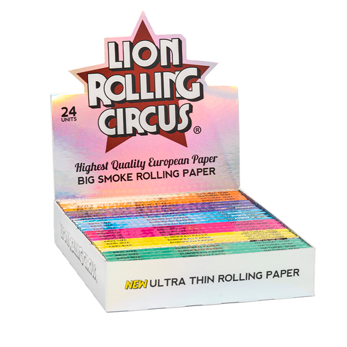 Lion Rolling Circus Ultra Thin Rolling Papers King Size