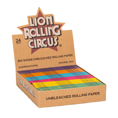 Lion Rolling Circus Unbleached Rolling Papers King Size