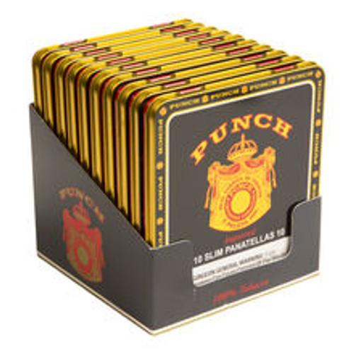 Punch Slim Panatelas Cigars 10 Tins of 10