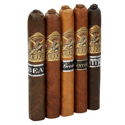 Gurkha Pigtail Toro Sampler 5 Cigars