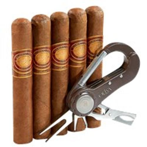 Gilberto Oliva Reserva Cigars Sampler + Golf Tool