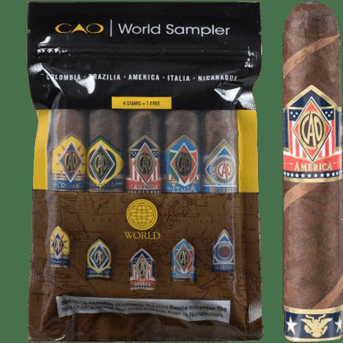 CAO World Cigars Sampler II 5 Ct.