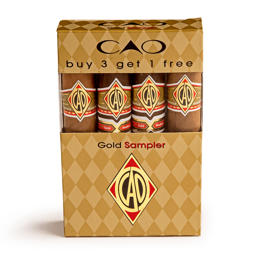 CAO Gold Cigars Sampler 5 Ct