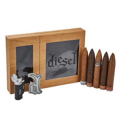 Diesel Gift Box Bottle Opener & Lighter Cigars Sampler