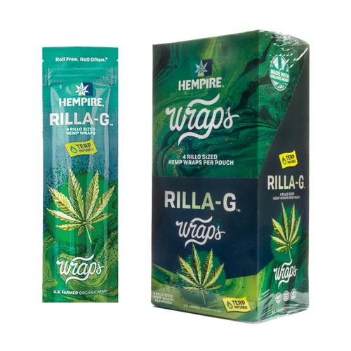 Hempire Wraps Rilla-G 15/4 Packs