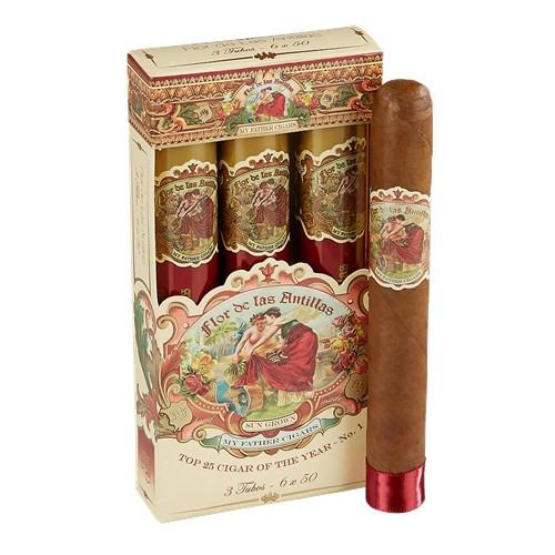 Flor de Las Antillas by My Father Tubo Cigars 3Ct. Pack
