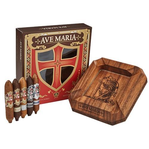 Ave Maria Gift Box & Ashtray Cigars Sampler