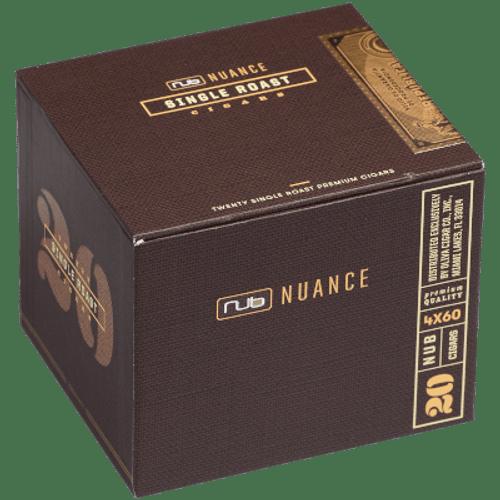 Nub Nuance Single Roast 460 Cigars 20 Ct. Box
