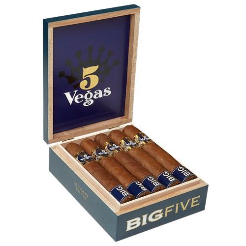 5 Vegas Big Five Churchill Cigars 10Ct. Box