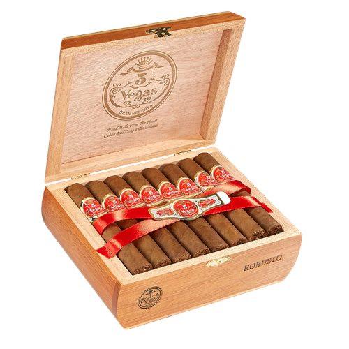 5 Vegas Classic Robusto Cigars 25Ct. Box