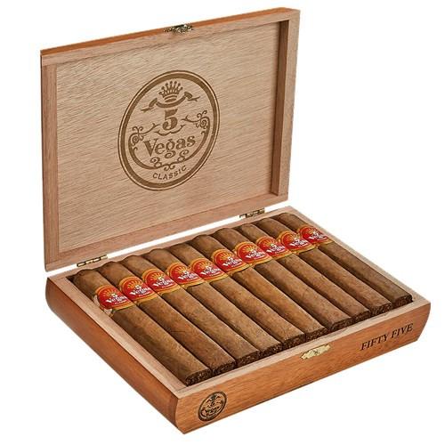 5 Vegas Classic Fifty Five Cigars 25Ct. Box