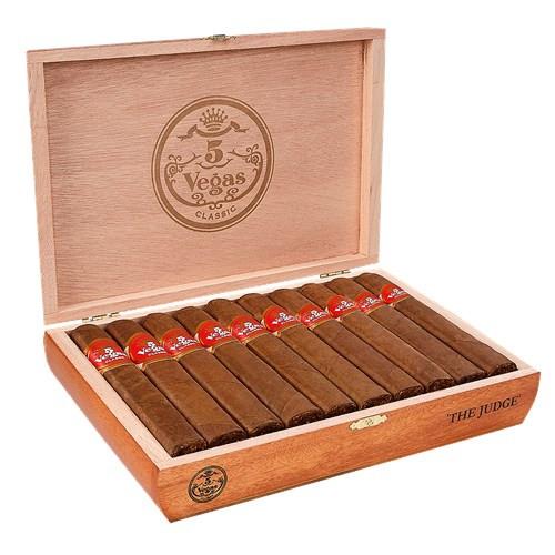 5 Vegas Classic The Judge Cigars 20Ct. Box