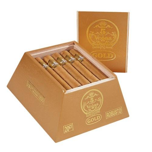 5 Vegas Gold Robusto Cigars 20Ct. Box