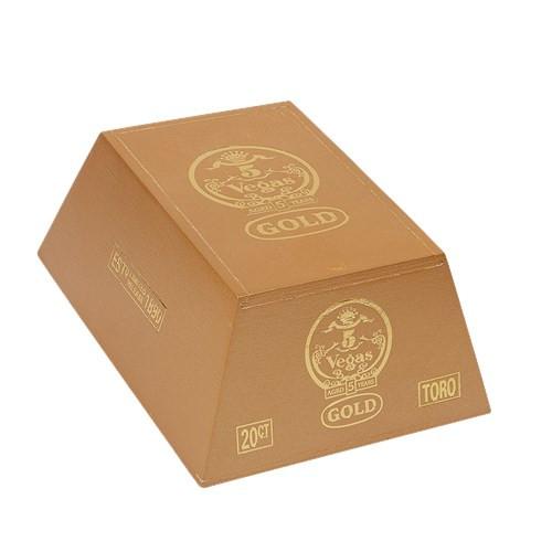 5 Vegas Gold Toro Cigars 20Ct. Box