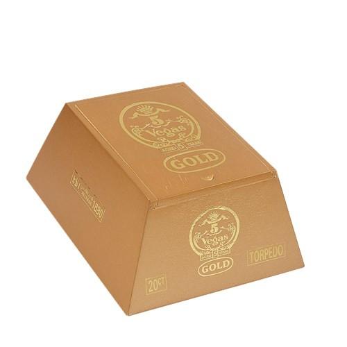 5 Vegas Gold Torpedo Cigars 20Ct. Box