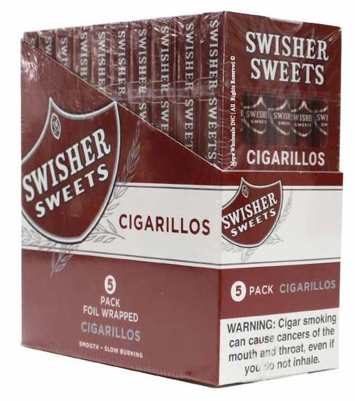 Swisher Sweets Cigarillo Regular 10 Packs of 5