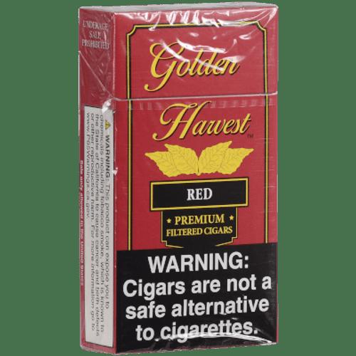 Golden Harvest Filtered Cigars Red 10/20