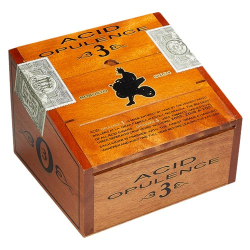 ACID Opulence 3 Robusto Cigars 21Ct. Box