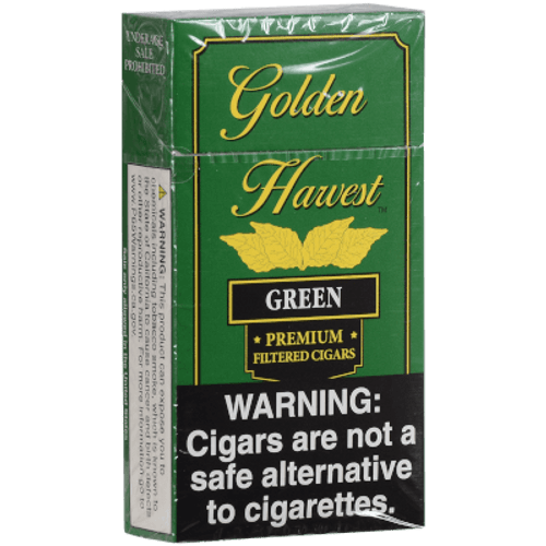 Golden Harvest Filtered Cigars Green 10/20