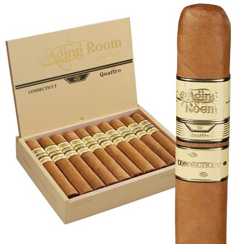 Aging Room Quattro Connecticut Espressivo Cigars 20Ct. Box