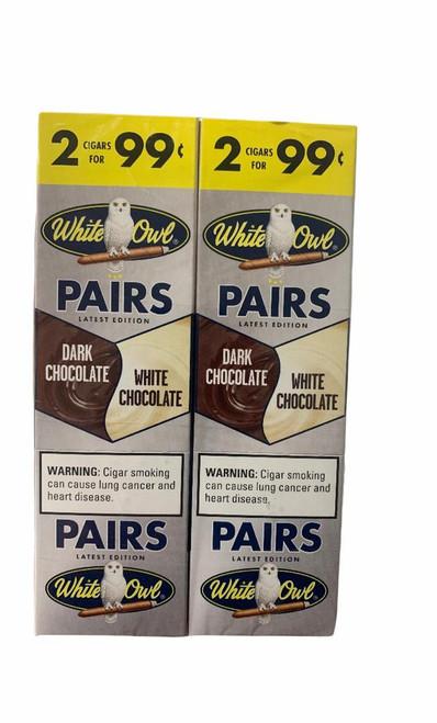 White Owl Cigarillos Dark/ White Chocolate 30/2
