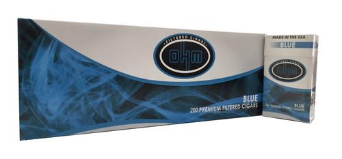 OHM Filtered Cigars Blue (Light)