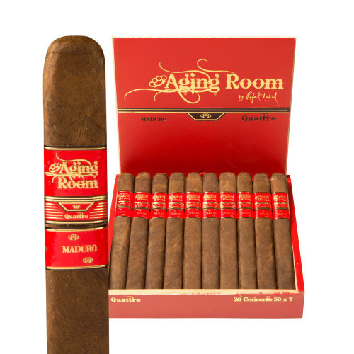 Aging Room Quattro Maduro Concerto Cigars 20Ct. Box