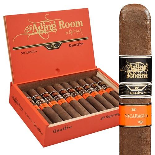 Aging Room Quattro Nicaraguan Espressivo Cigars 20Ct. Box