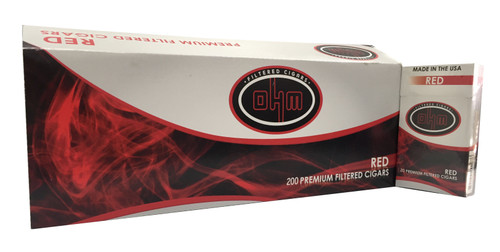 OHM Filtered Cigars Full Flavor