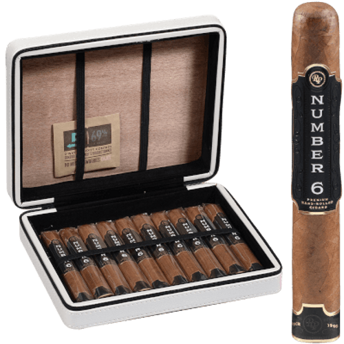 Rocky Patel Travel Case Number 6 Cigars 10 Ct
