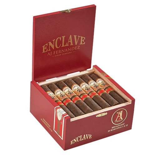 Enclave Broadleaf by AJ Fernandez Robusto Cigars 20Ct. Box